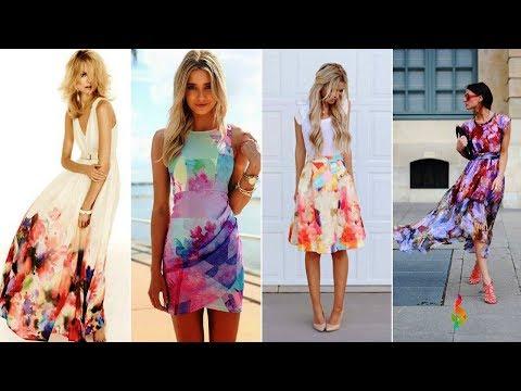 Модное лето 2018 фото П�� Красивые летние платья для женщин: тренды, фасоны, тенденции, стильная мода