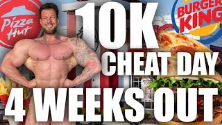 GIANT 10K CHEAT DAY 4 WEEKS OUT