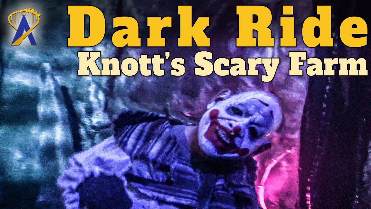 Dark Ride Haunted House at Knott's Scary Farm in California