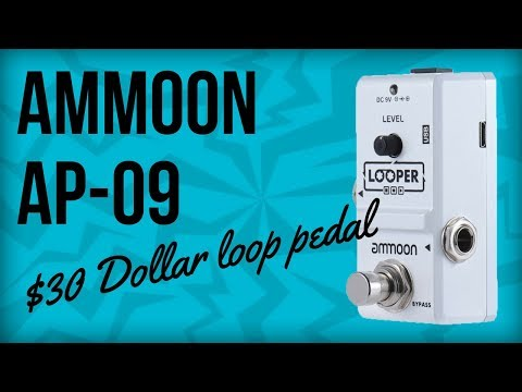 Ammoon AP-09 Demo (The Cheapest Loop Pedal Ever)