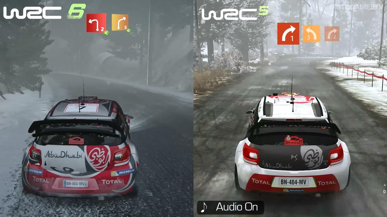 wrc 6 vs wrc 5 graphics sound gameplay comparison xone monte carlo youtube. Black Bedroom Furniture Sets. Home Design Ideas