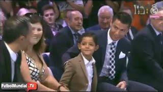 La broma de Cristiano Ronaldo a su hijo que hizo reír al pÃ...