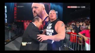 WWE- Big Show vs Brock Lesnar ( Sigment )