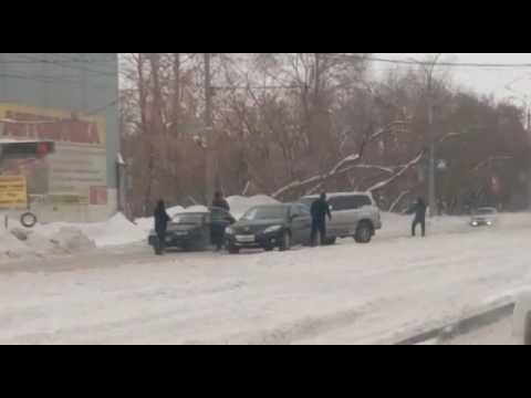 Перестрелка в Новосибирске на Петухова 28 декабря 2016