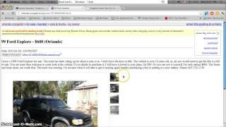 Craigslist Cars Under 700 Dollars