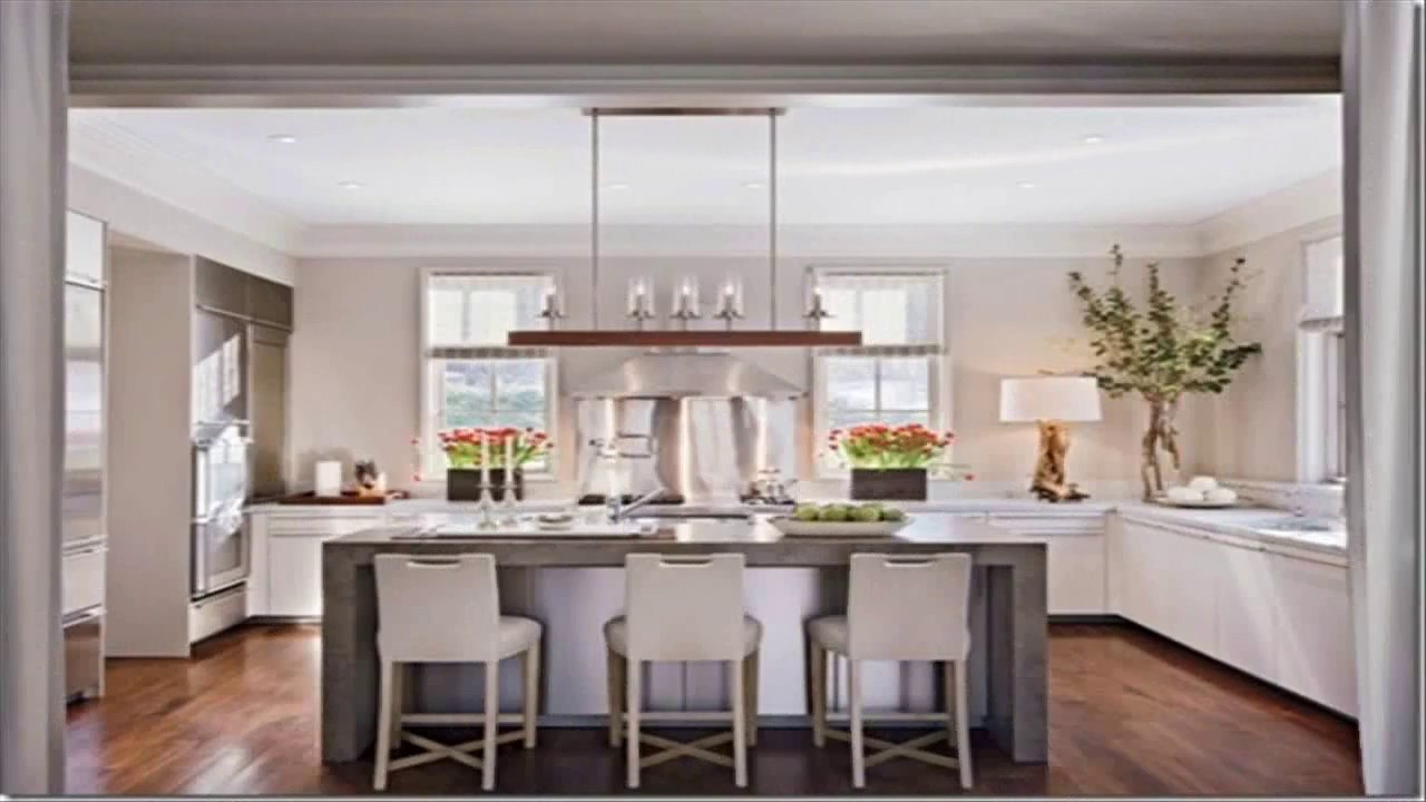 Kitchen Design Ideas No Upper Cabinets - YouTube