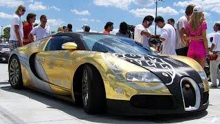 В сеть попало видео с Bugatti Chiron