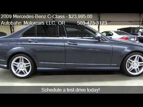 2009 mercedes benz c class c300 sport sedan for sale in for Mercedes benz c300 sport for sale
