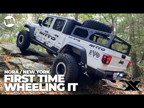Jeep Gladiator Trucks and Wranglers by EVO Off Road NORA New York Nitto JL JT Experience Part 2