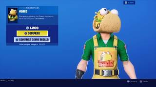 NEW SKIN *GUACO*NEW GESTURE TIME OF TACO NEW FORTNITE STORE