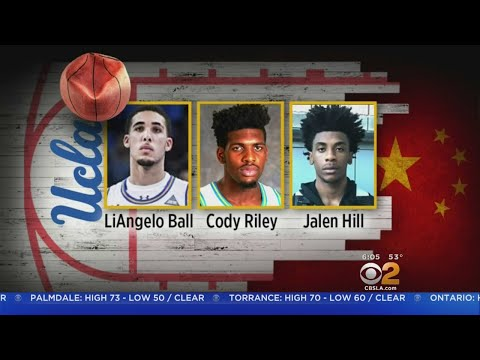 UCLA Basketball Players Freed After Shoplifting Arrest In China