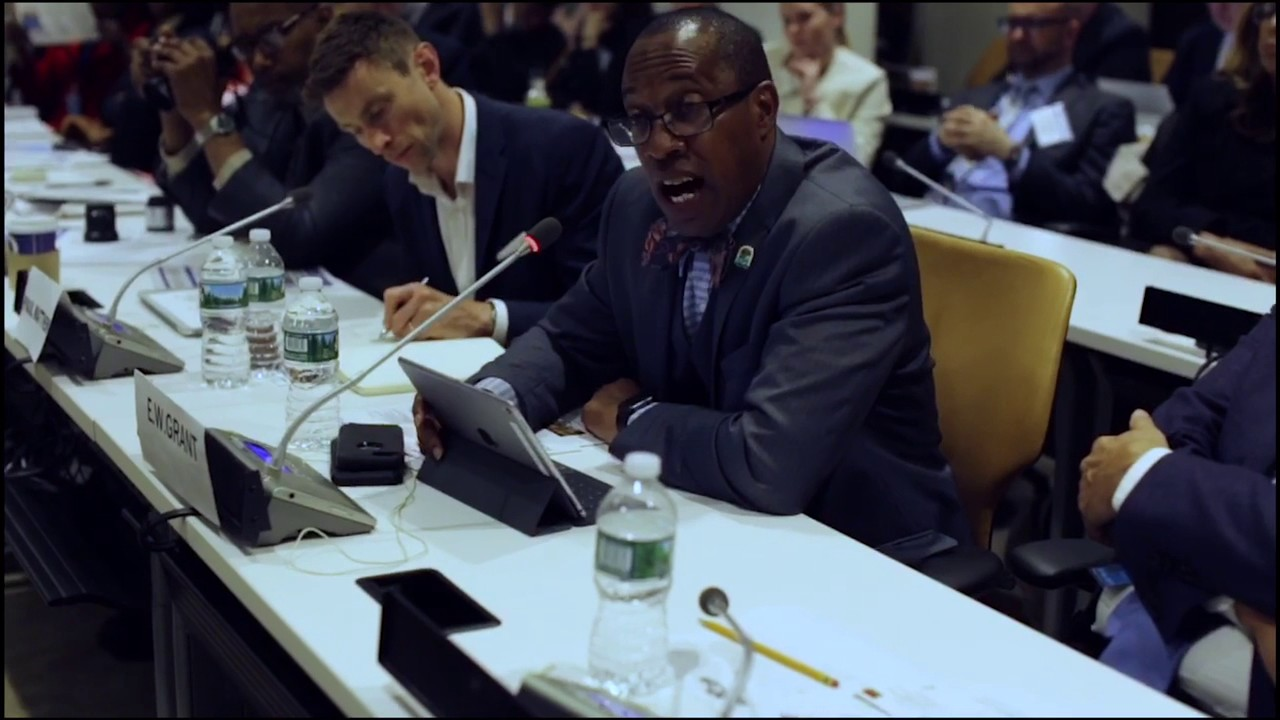 Seat Pleasant Mayor Eugene W. Grant Visits the United Nations ...