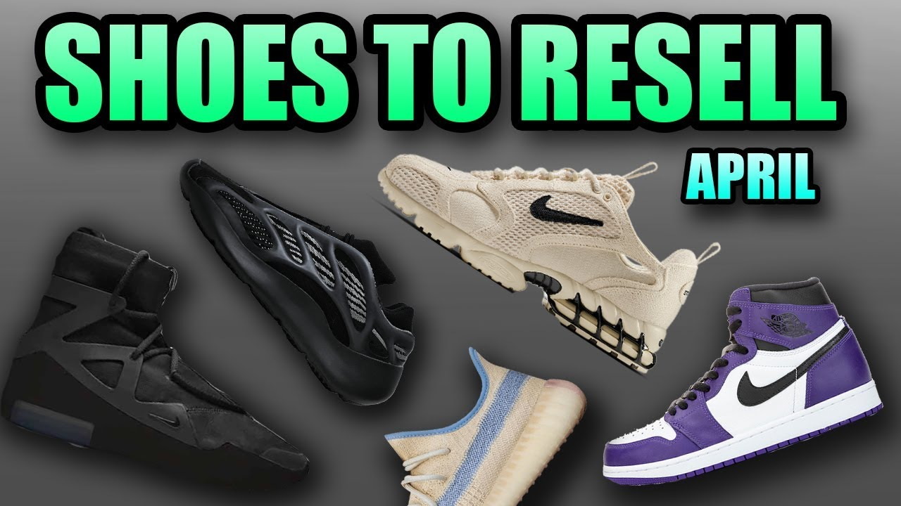 Most Hyped Sneaker Releases April 2020