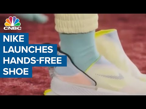 Nike's new GO FlyEase sneakers let you slip on your shoes 'hands ...