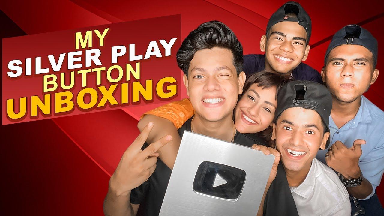 My Silver Play Button Unboxing | Rakib Hossain | Ritu Hossain | Mehedi Hassan