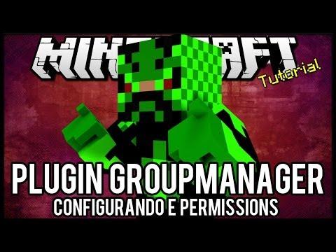 [Tutorial]Groupmanager - Criação de Grupos e Permission Minecraft
