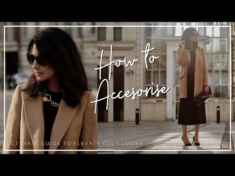 HOW TO ELEVATE YOUR LOOK WITH ACCESSORIES | Shoes Handbags Jewellery | JASMINA BHARWANI
