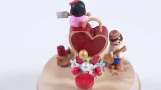 Lovers' Lock Wooden Music Box