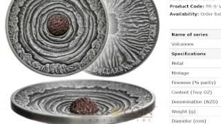 "2015 GHANA ""Lunar Skulls"" GOAT 1oz Silver High Relief Coin"