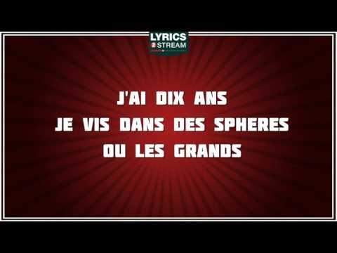 J'ai Dix Ans - Alain Souchon - paroles