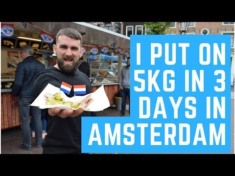 AMSTERDAM TRAVEL VLOG || FOOD AND FITNESS