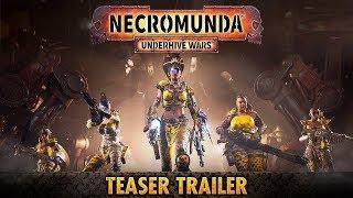 (WARHAMMER 40000) Necromunda: Underhive Wars - Официальный трейлер