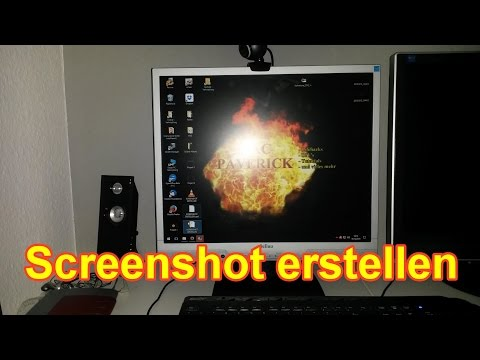 Screenshot Am PC / Laptop / Notebook / Erstellen – Screenshot Windows 7 / 8 / 10  Machen - Deutsch