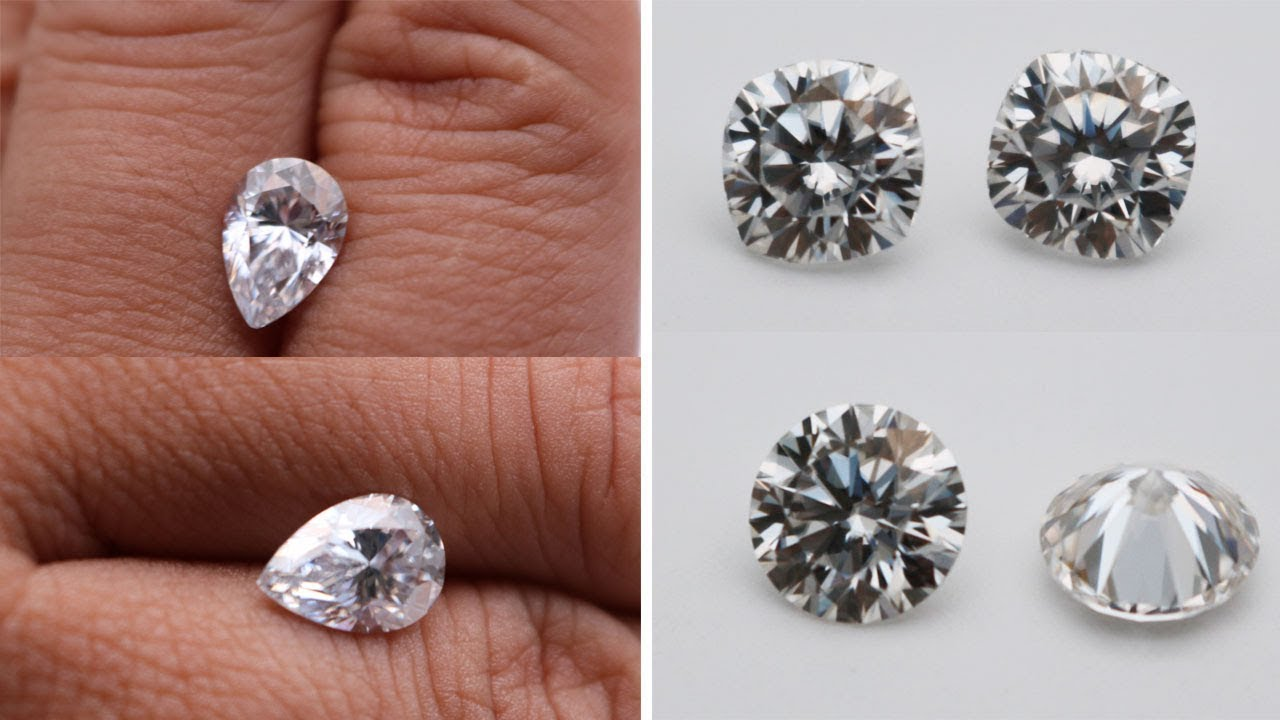 Moissanite Diamond DEF White Color Best quality Gemstones China wholesale  suppliers
