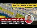 Ehliyet Çalışma Soruları - Son Yapılan Ehliyet Sınav Soruları Çözümü (21 Nisan 2018) Trafik ve Çevre