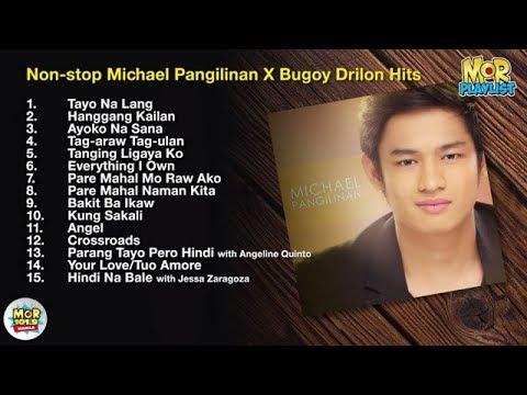 LIVE: Michael Pangilinan & Bugoy Drilon Hits| MOR Playlist Non-Stop OPM Songs 2018 ♪