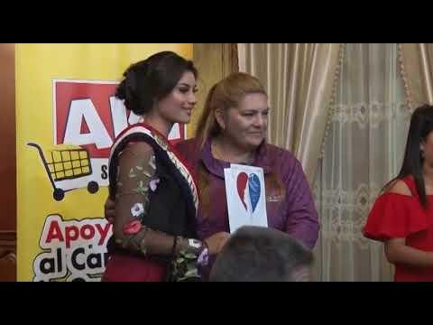 El GADCG  realizó la entrega de premios a la Srta. Emilia Bonilla Reina de Guaranda.