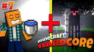 """Minecraft Hardcore #7 - """"Deszcz = 0 endermanów!"""""""