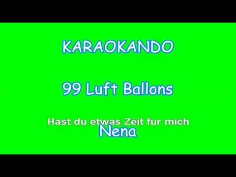 Karaoke Internazionale - 99 Luft Ballons - Nena ( Lyrics )