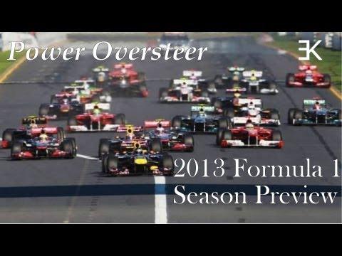 Power Oversteer: 2013 Formula 1 Season Preview