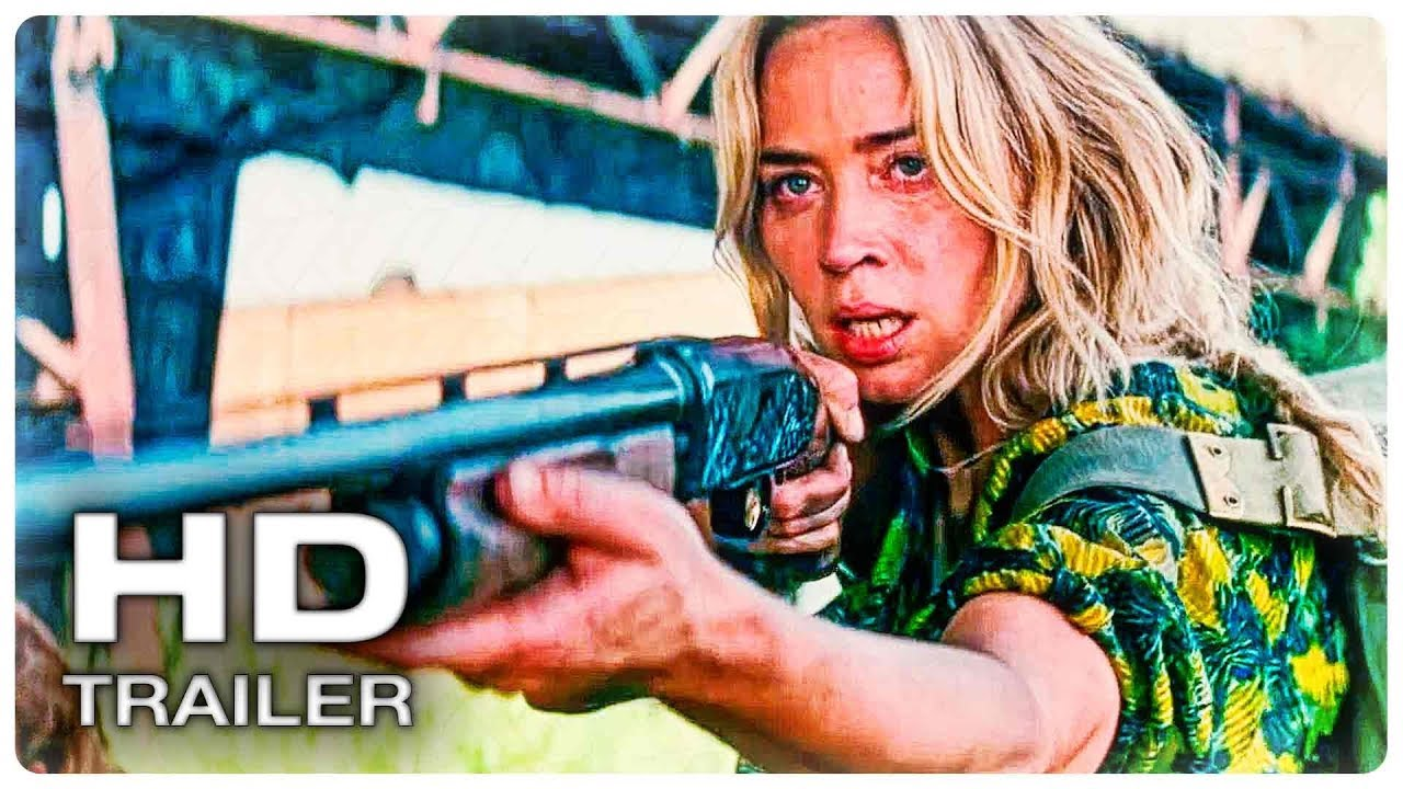 ТИХОЕ МЕСТО 2 Русский Трейлер #1 (2020) Киллиан Мёрфи, Эмили Блант Horror Movie HD