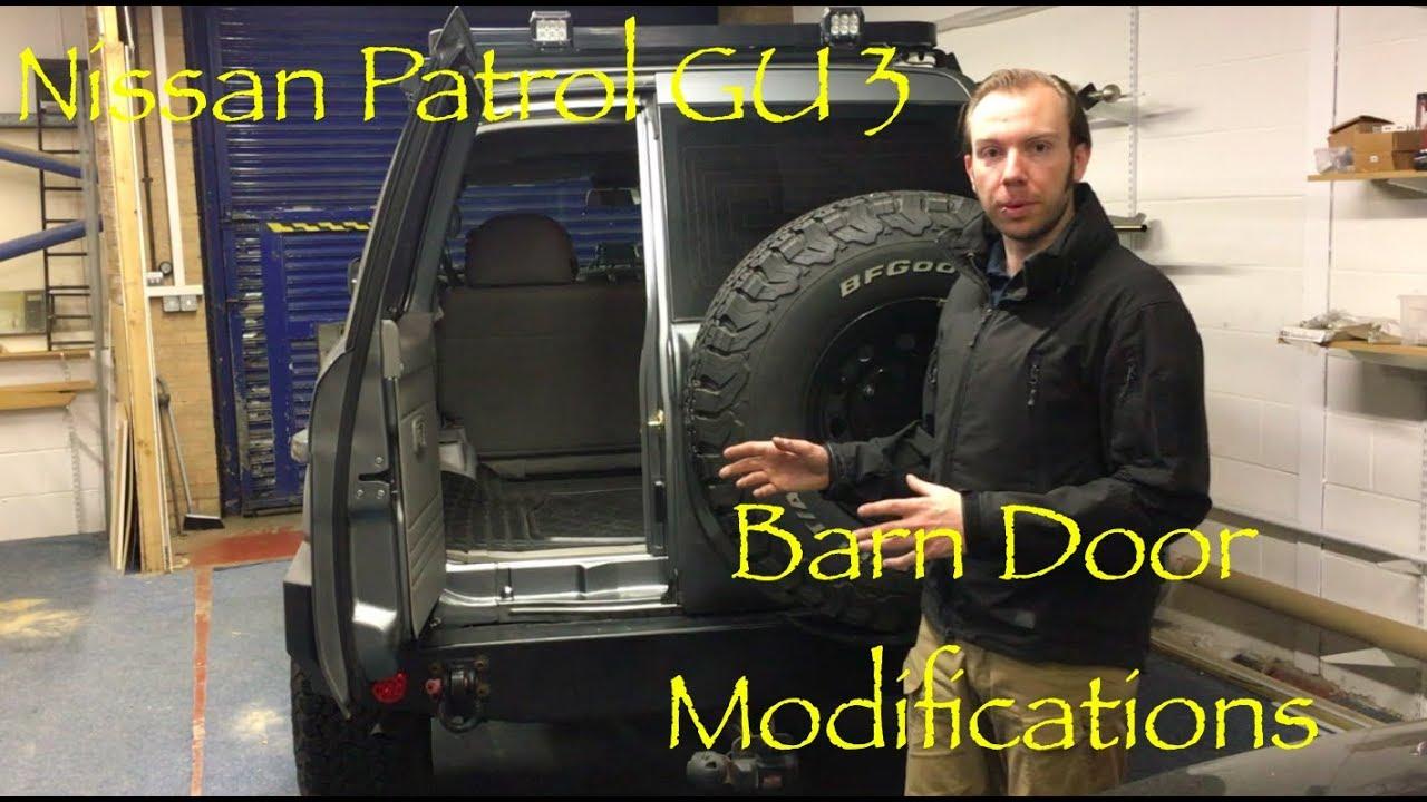 Nissan Patrol GU3 - Barn Door Modifications