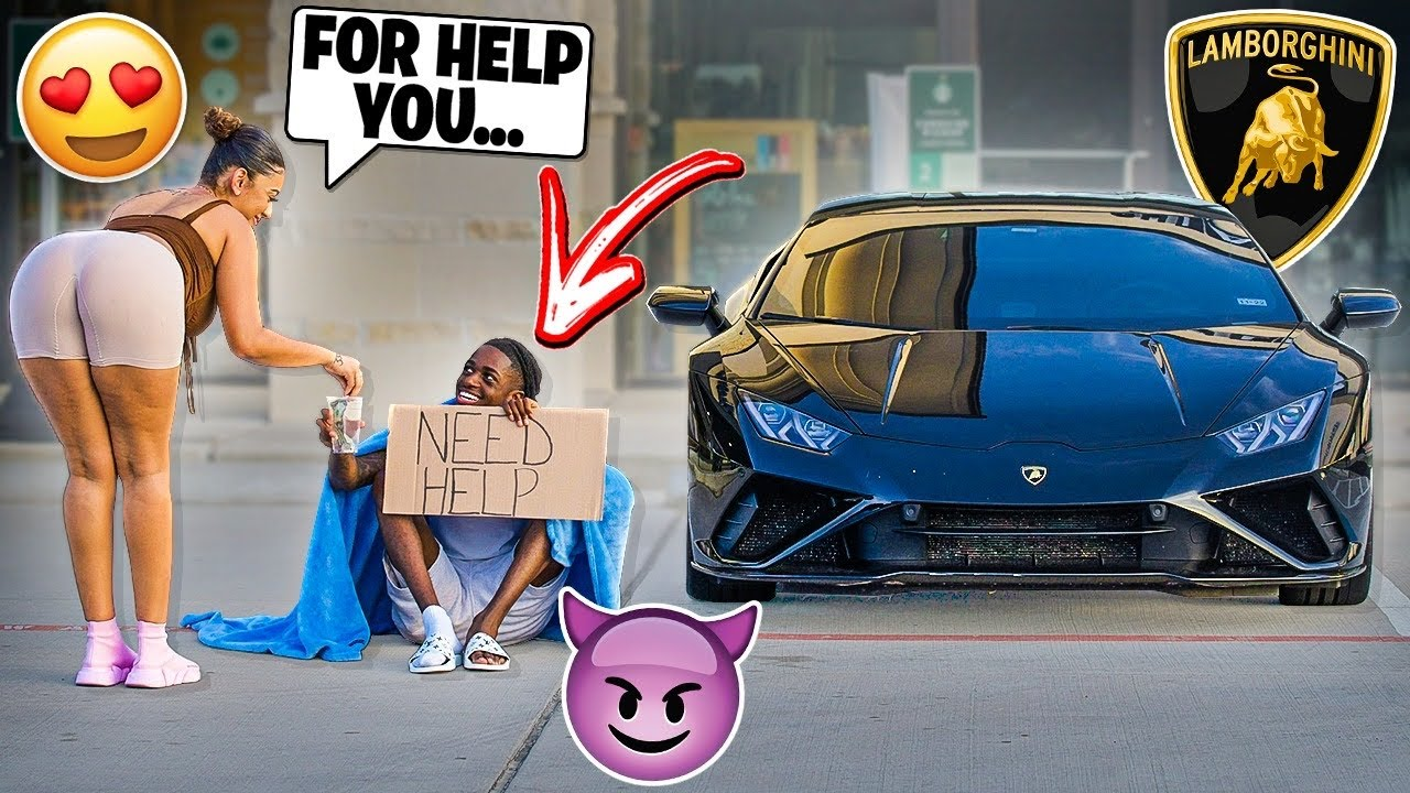 Download GOLD DIGGER PRANK IN THE HOOD PART 2!