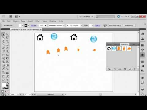 Adobe Illustrator CS5 Tutorial Training Video Part 1 - K Alliance