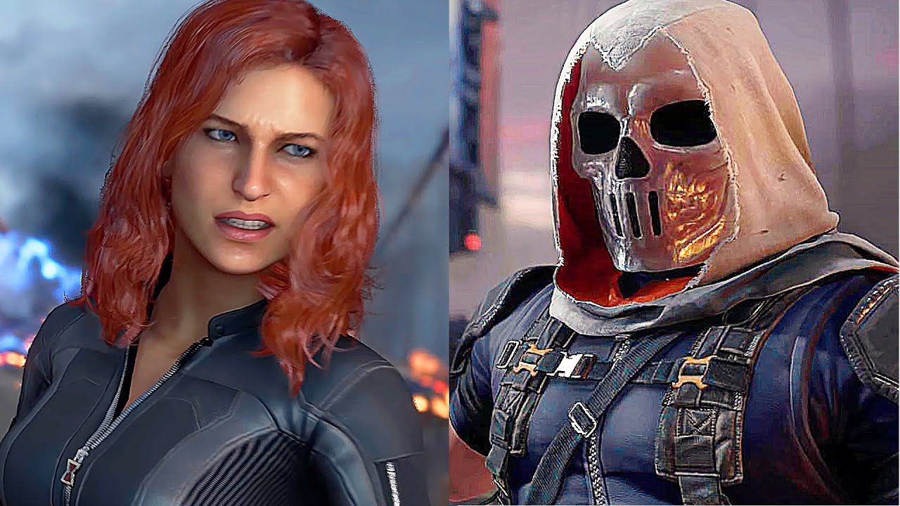 Marvel Avengers Game Black Widow Vs Taskmaster Boss Fight 2020
