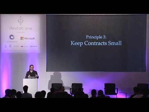 DEVCON1: Contract Oriented Programming Modularity, Extensibility, & Security Custom - Peter Borah
