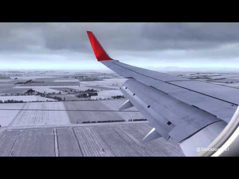 FSX [2017] Extreme Graphics Boeing 737-800 Landing As Real