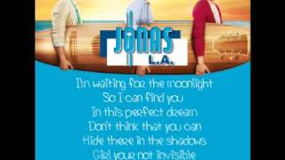 Jonas Brothers - Invisible (Lyrics)