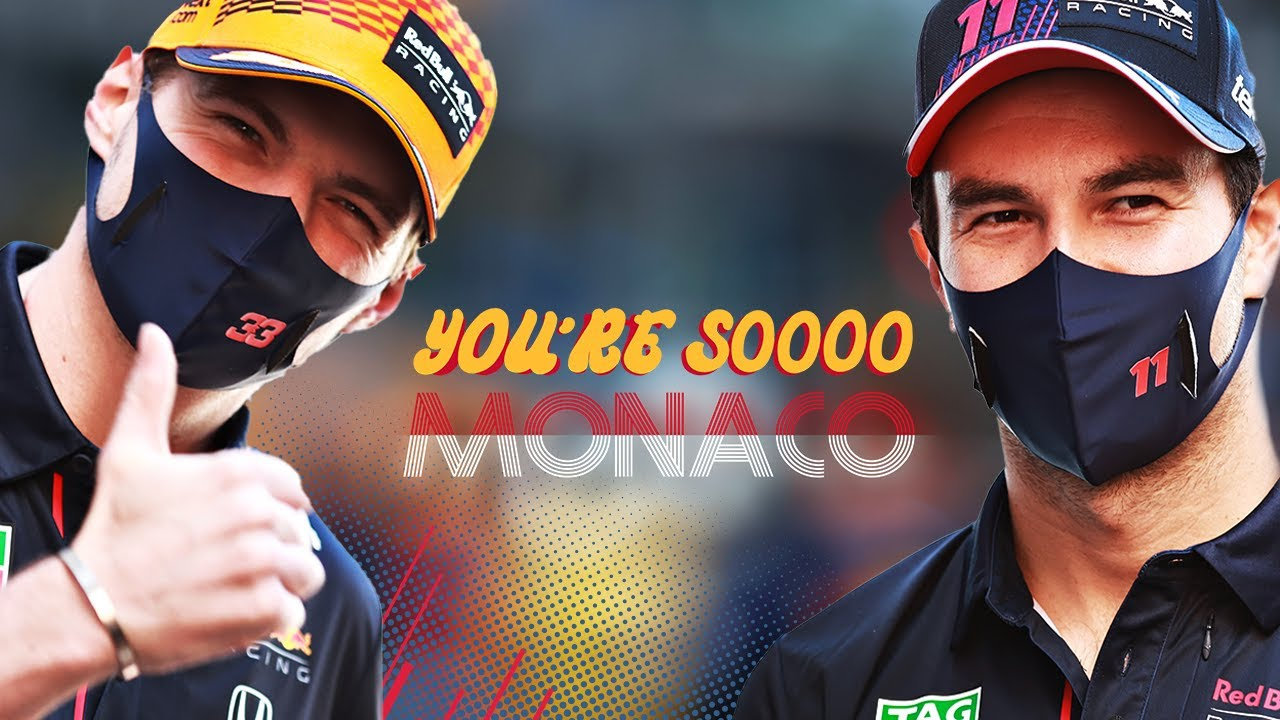 You're Soooo Monaco Hosted by David Coulthard | Starring Max Verstappen and Checo Perez