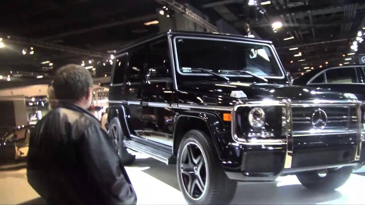 2015 mercedez benz g63 amg suv in 2014 washington dc auto show 2014 hd youtube