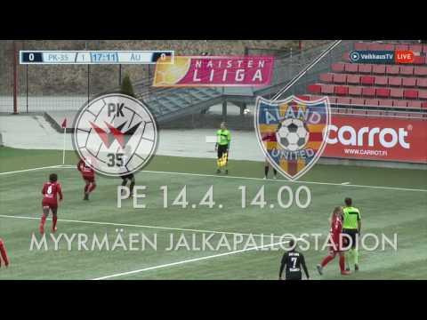 PK-35 TV: PK-35 Vantaa - Åland United 1-0 (1-0) Kooste 14.4.2017
