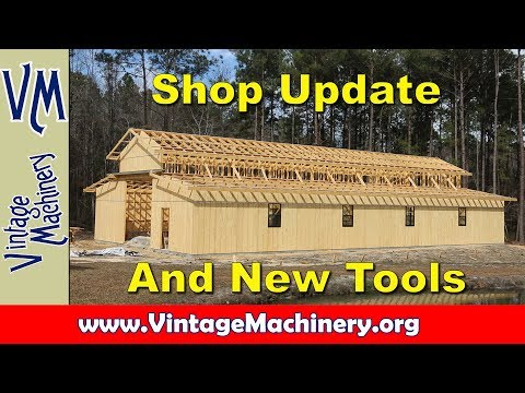 Odds & Ends 40:  Shop Update and New Tools
