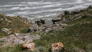 видео Казантипский природный заповедник