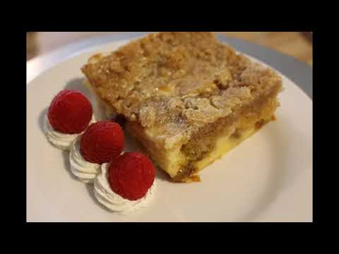 Bread Pudding With Streusel Topping, Golden Raisins...WHAT!?!