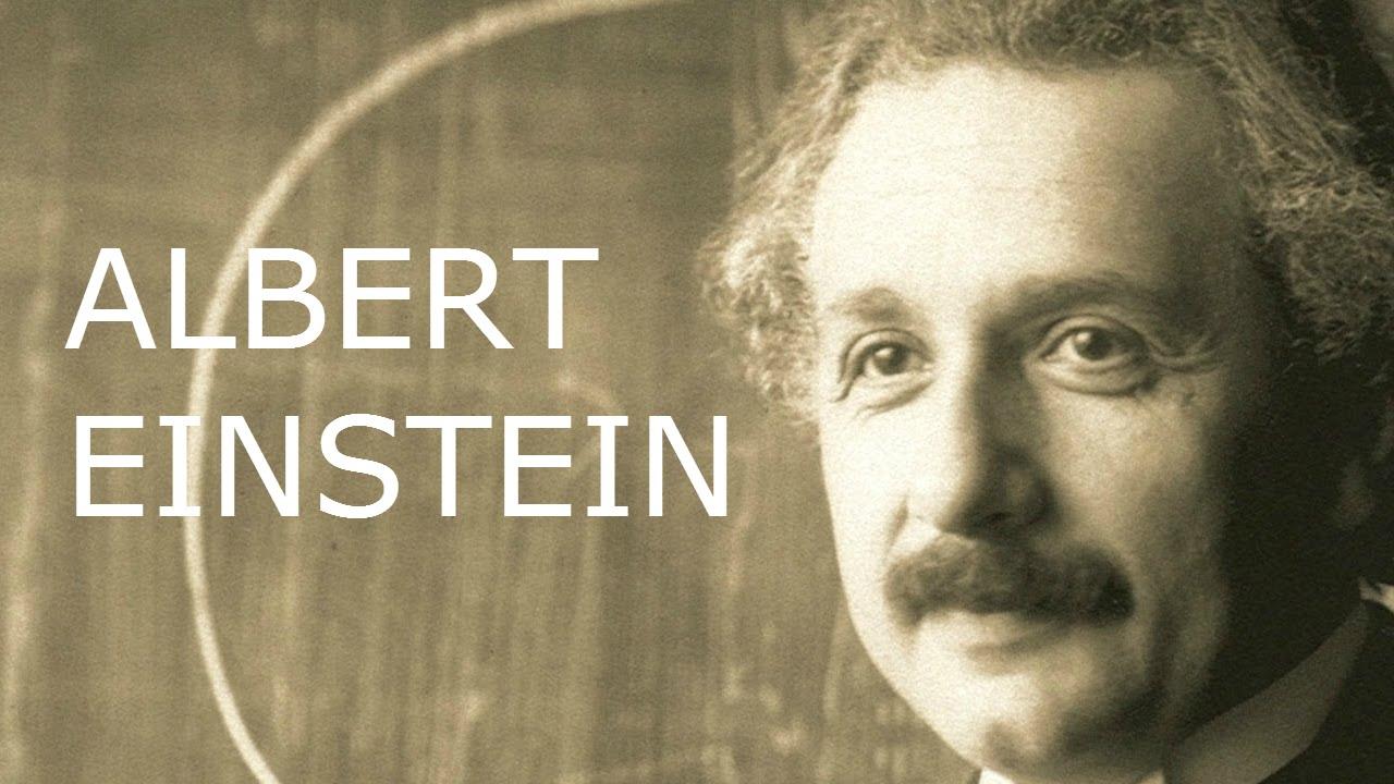"Albert Einstein - ""e=mc2"" quote - YouTube"