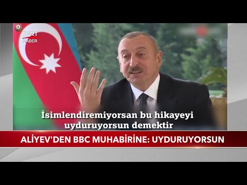 Aliyev'den BBC Muhabirine Ters Köşe